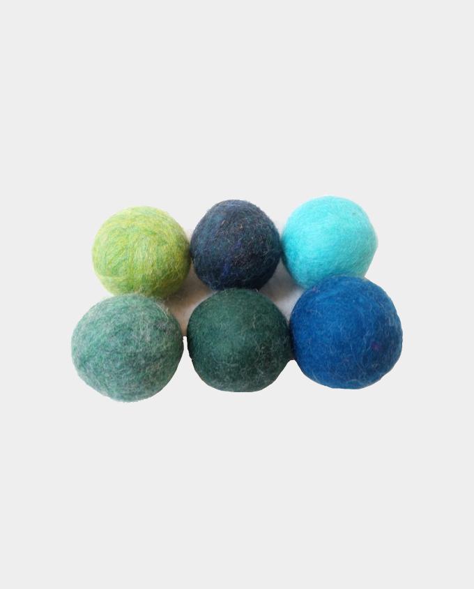 Trees and Seas Dryer Balls