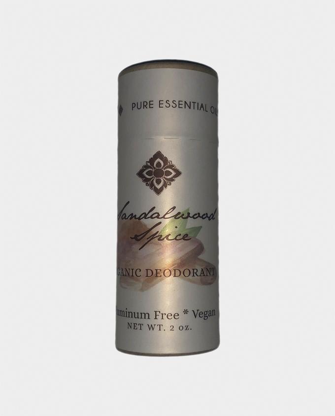Organic Sandalwood Spice Deodorant
