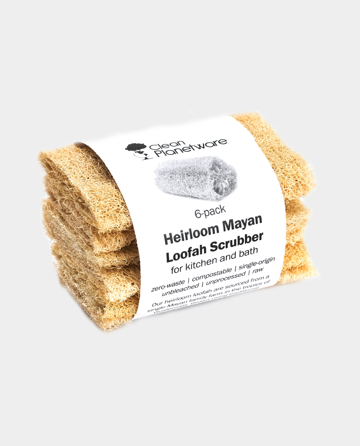 Heirloom Mayan Loofah Scrubber