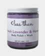 Less Than French Lavender + Honey Body Polish + Wash
